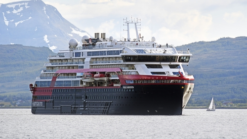All 160 crew members on the Roald Amundsen have been quarantined on the ship