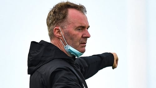 John Sheridan takes charge of Waterford for the first time