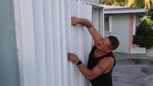 Residents in Florida are preparing for the arrival of Hurricane Isaias