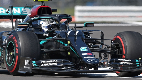 Valtteri Bottas was fastest in the final practice at Silverstone