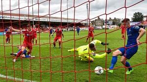 John Martin breaks the deadlock for Waterford