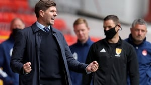 Steven Gerrard has been recognised for a job well done at Rangers