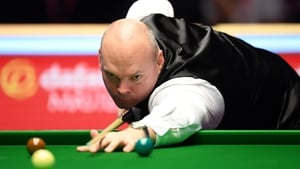 Stuart Bingham was grateful to get over the line