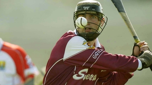 Cathal Moore in action for Galway in 2003