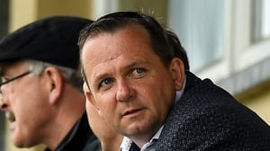 Davy Fitzgerald watches Ferns St Aidan's and Faythe Harriers' match on 18 July