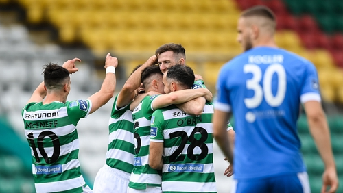 Three first half goals meant the result was never in doubt at Tallaght Stadium