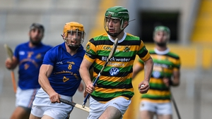 Glen Rovers' Liam Coughlan evades Billy Hennessy of St Finbarrs