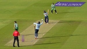 England had four wickets to spare against Ireland