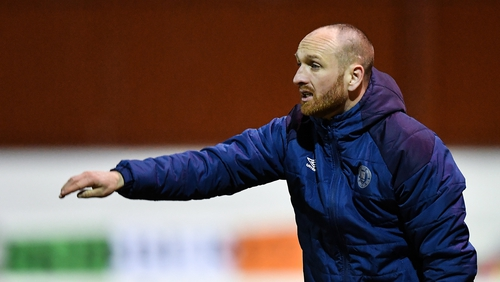 St Patrick's Athletic boss Stephen O'Donnell