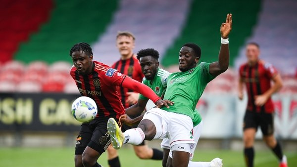 Bohs' Andre Wright got the goal early on