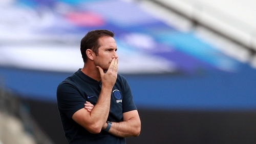 Lampard and Chelsea endured FA Cup final heartache on Saturday