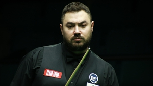 Maflindirected the gesture towards the table after his bid for a maximum break ended when he ran out of position on the penultimate red