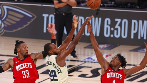 The Bucks tasted defeat for only the 12th time this season