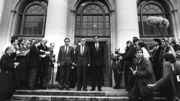 John Hume Albert Reynolds and Gerry Adams