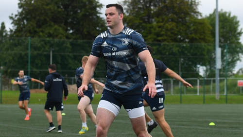 James Ryan suffered a shoulder injury in training
