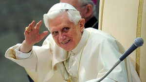 The former pontiff now lives in a small former monastery inside the Vatican