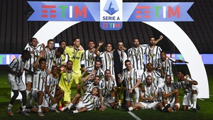 Juventus were crowned champions in Italy for the 2019-20 season