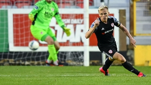 Conor McCormack's goal sealed the victory for Derry at Richmond Park