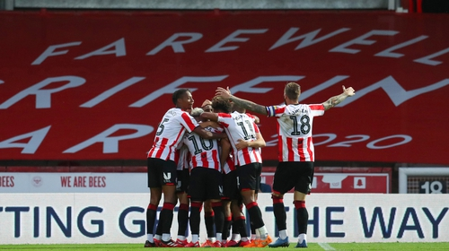Brentford take on Fulham at Wembley for a place in the Premier League