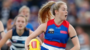 Aisling McCarthy in action for the Bulldogs