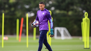 Gavin Bazunu is third choice goalkeeper at Manchester City