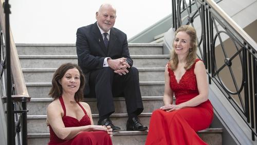 Degani Piano Trio. L- R: Annette Cleary (cello), Alan Smale (violin), and Rachel Quinn (piano)