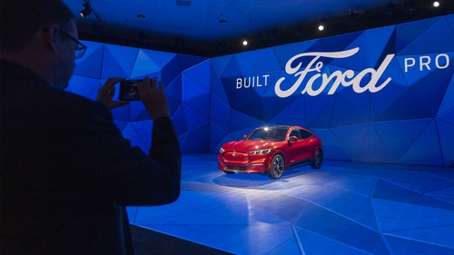 Ford has begun to increase the number electric cars it makes, including a version of its iconic Mustang
