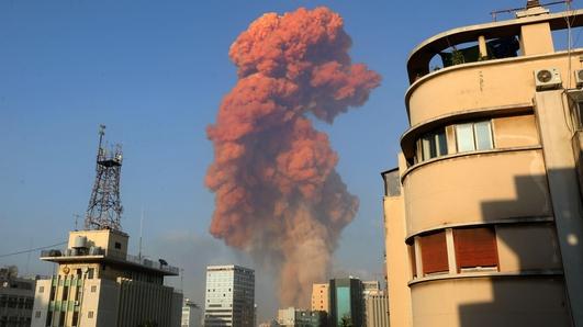 Explosion In Beruit