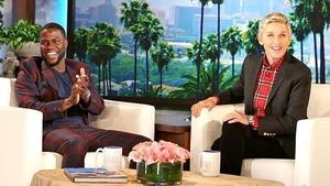 Kevin Hart took to social media in support of Ellen DeGeneres