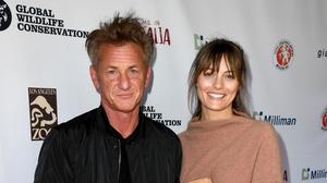 The newlyweds: Sean Penn has confirmed he married partner Leila George