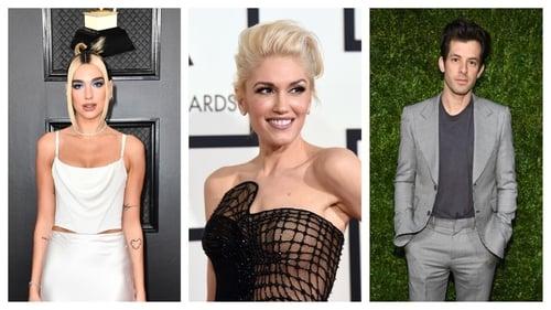 Dua Lipa, Gwen Stefani and Mark Ronson