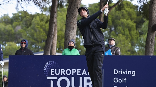 John Catlin during day three of the European Tour Qualifying School Final Stage in 2019