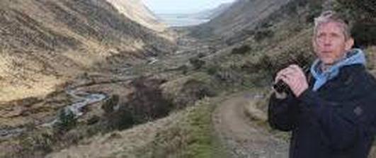 Lorcán Ó Tuathail, bainisteoir an togra Iolair Fíréin i gContae Dhún na nGall.