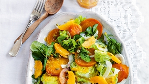 Sunshine Salad with Golden Beetroot and Orange