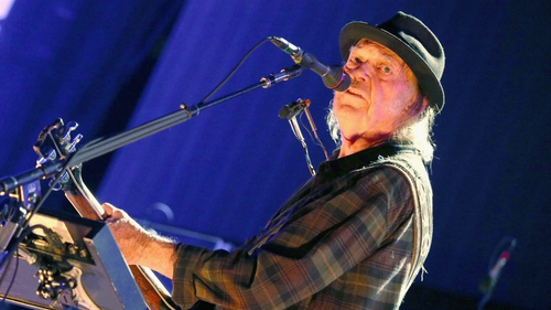 Neil Young: only lucre can break your heart