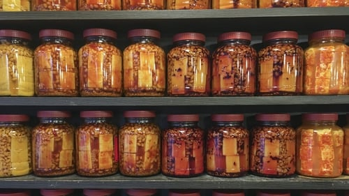 'Fermentation can occur naturally when sugars in food, certain microorganisms and suitable storage conditions coincide'