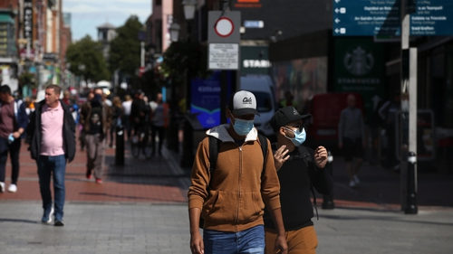 Face coverings are now mandatory in shops and indoor settings