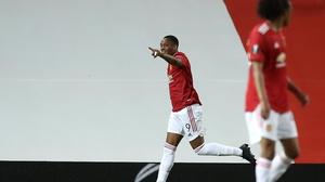 Martial scored the winner