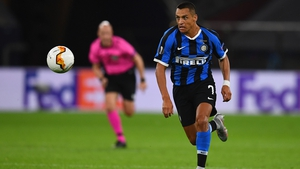 Sanchez has scored four goals in 29 appearances in all competitions for Inter this season