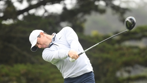 McIlroy during a practice round prior to the 2020 PGA Championship at TPC Harding Park