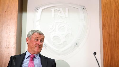 FAI interim chief executive Gary Owens