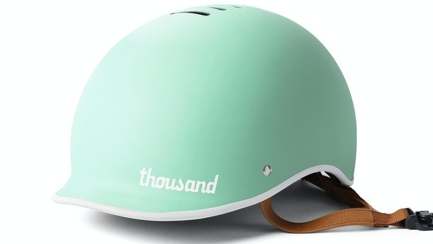 Thousand Bicycle Helmet in Mint, £95, Cyclechic