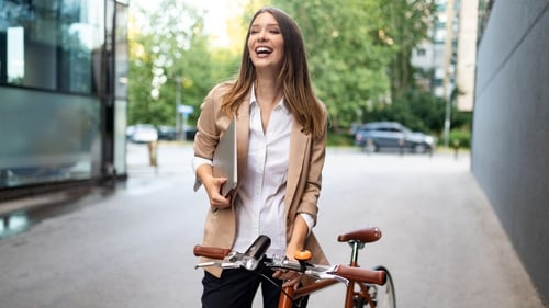 Keep your style functional and chic when cycling
