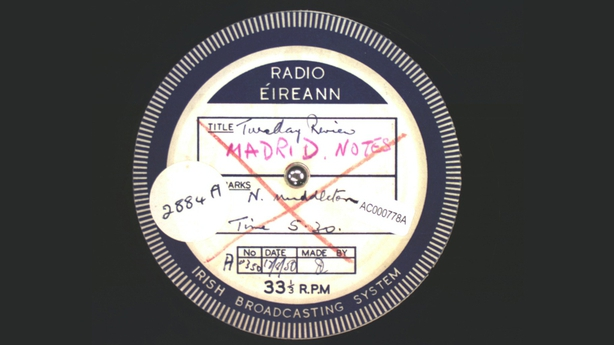 Acetate Disc Collection : Madrid Notes (1950)