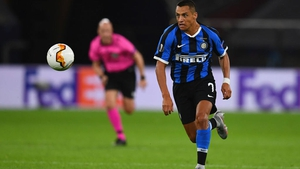 Sanchez joined Inter permanently in August after a season on loan