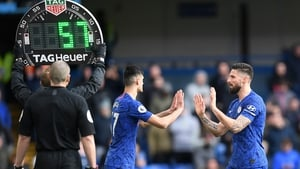 Clubs were allowed to increase the number of substitutes when the league restarted in June