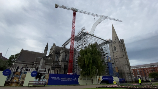 Low tourism impacts St Patrick's Cathedral restoration