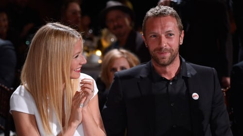 Gwyneth Paltrow and Chris Martin, pictured in January 2014 in California