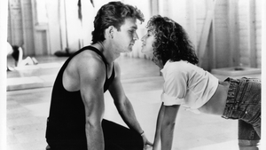 Patrick Swayze as Johnny Castle and Jennifer Grey as Frances 'Baby' Houseman in Dirty Dancing
