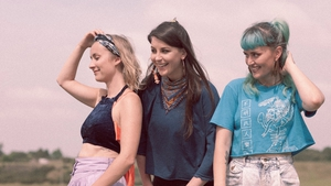 Karen Cowley, Saoirse Duane and Caoimhe Barry of Wyvern Lingo